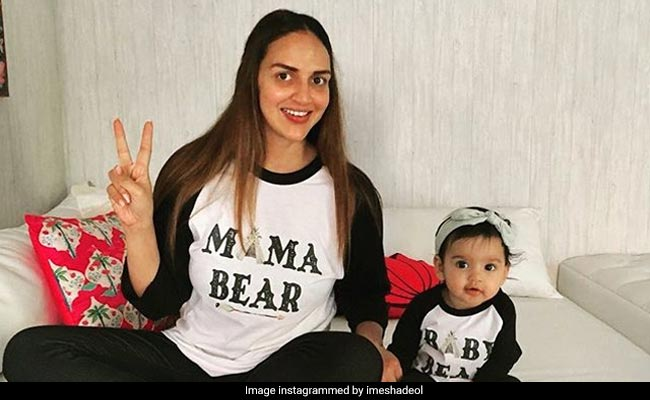 Esha Deol, husband Bharat Takhtani welcome baby girl, name her Miraya