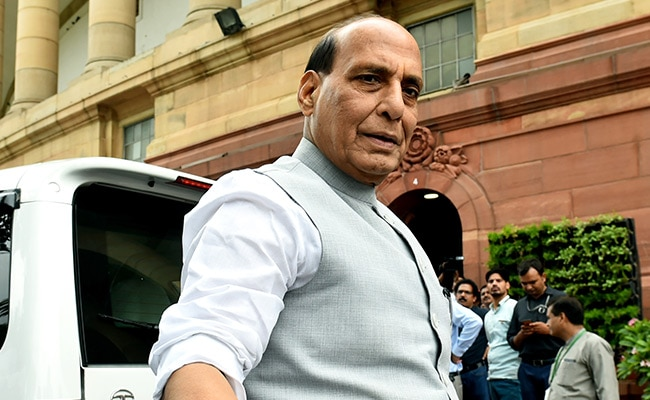 """""""In India All Feel Safe, Respected"""": Rajnath Singh On Minorities In Pak"""