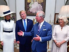 Watch: Prince Charles Jokes In Front Of Donald Trump, Camilla Winks At Cameras