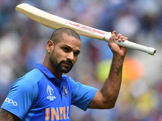 cricket world ,shikhar dhawan ,michael hussey ,india,माइकल,धवन,चैंपियन,टीम इंडिया,वजह