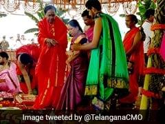 तेलंगाना में विश्व के सबसे बड़े लिफ्ट सिंचाई प्रोजेक्ट 'कालेश्वरम' का लोकार्पण