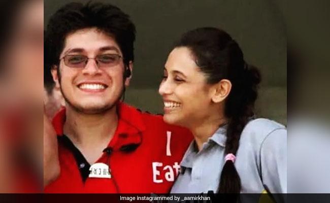 आमिर खान के बेटे की रानी मुखर्जी संग इस अंदाज में हुई Photo वायरल, बोले- ऐसा मैं कभी नहीं कर पाया...