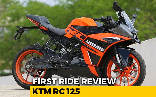 Ktm Rc 125 First Ride Review