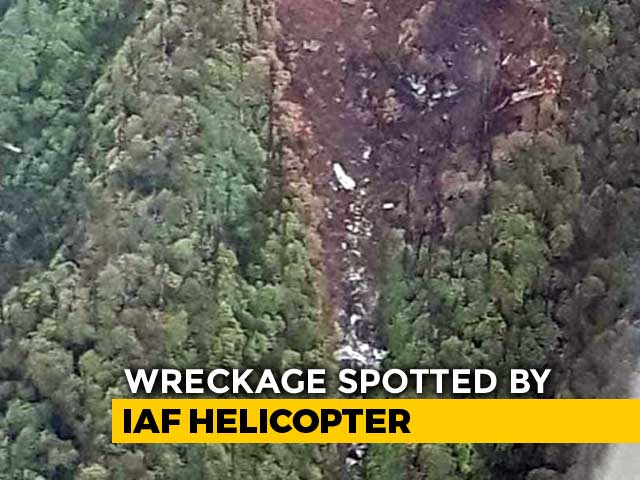 Video : First Image Of Air Force's An-32 Crash Site Shows Debris, Charred Trees
