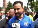 "Video : ""Biggest Game"": Saif Ali Khan In Manchester To Watch India vs Pak Match"