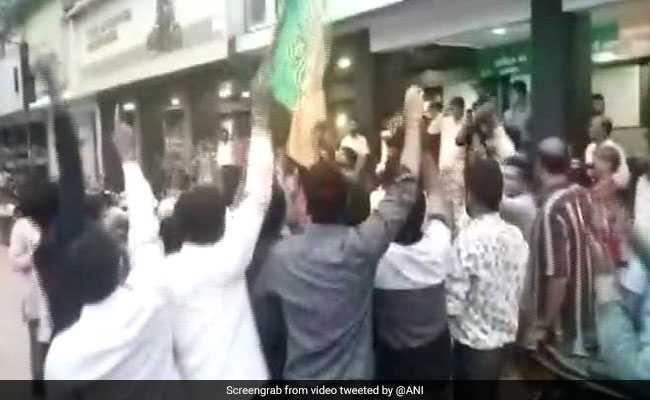 Celebratory Gunshots, Garlands Welcome BJP Legislator, Out On Bail