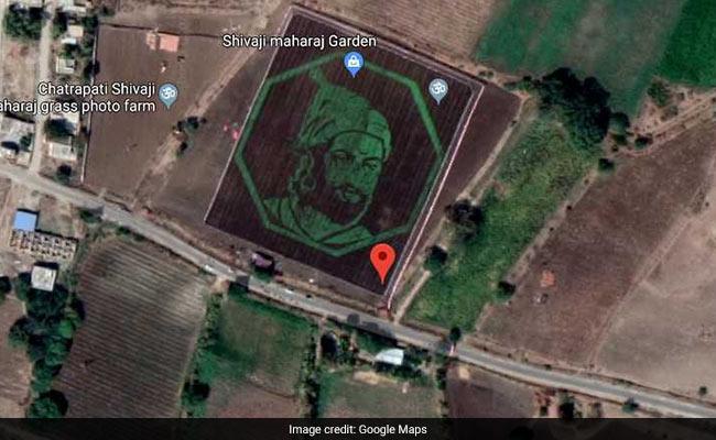 Tribute To Chhatrapati Shivaji, Visible On Google Maps, Is Viral