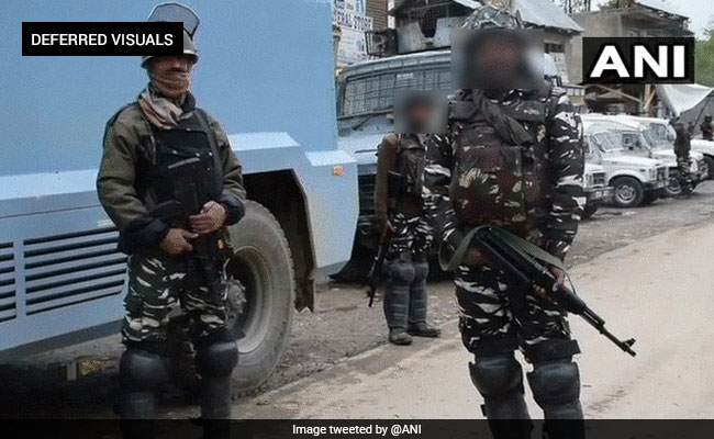 Terrorist killed In Encounter With Security Forces In Jammu And Kashmir's Shopian