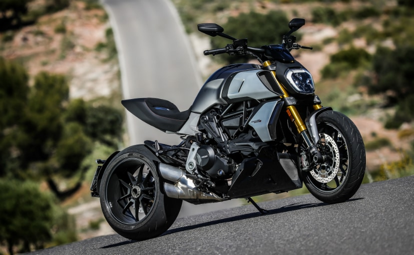The Lamborghini edition will be based on the Ducati Diavel 1260 but with exclusive colours and badging