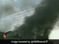 Fire At Pesticide Factory In Meerut, Rescue Operations Underway