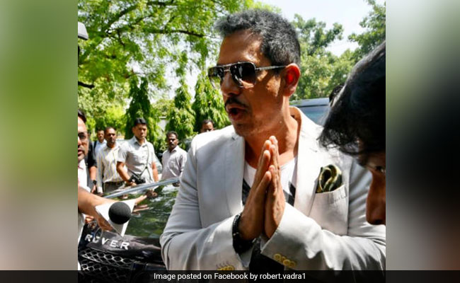 Robert Vadra Seeks Time To Reply To Plea Against His Anticipatory Bail