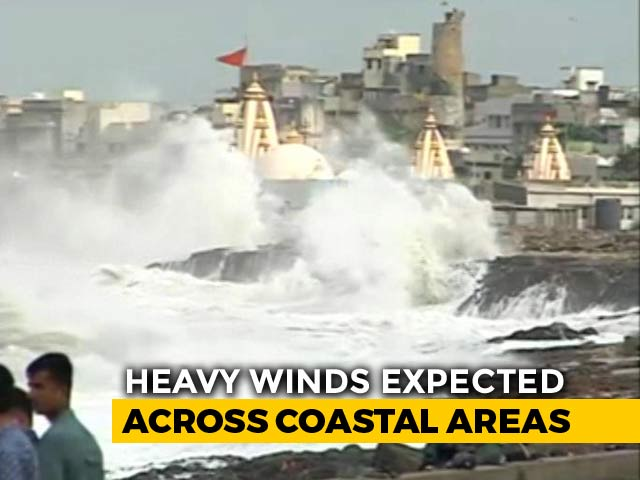 Video : Cyclone Vayu Won't Hit Gujarat, Changes Course Overnight