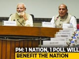 Video : PM To Form Committee To Study Feasibility Of One Nation, One Poll: Centre