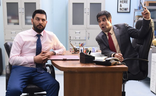 Yuvraj Singh Joins The Office India For Something Special