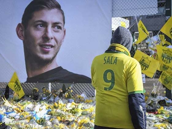 "Footballer Emiliano Sala, Pilot ""Exposed To Carbon Monoxide"" Before Crash"