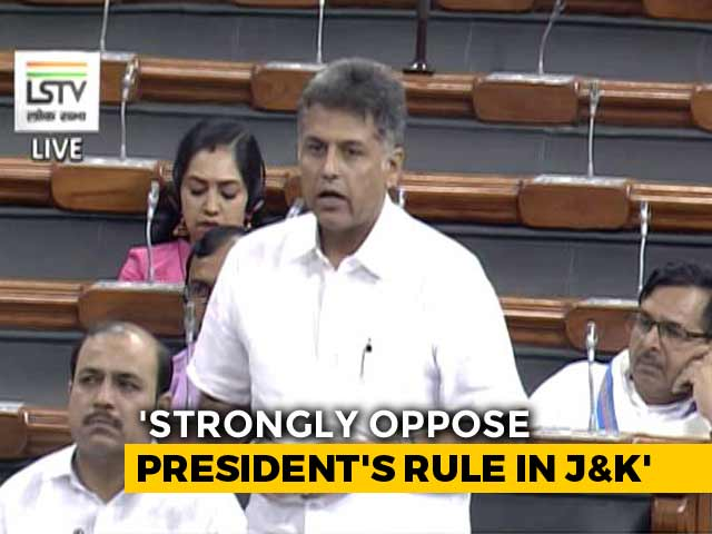 Video : Opposition Questions Delay In Holding Elections In Jammu and Kashmir