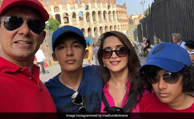 Madhuri Dixit Adds Another Fab Pic To Her Rome Vacation Album