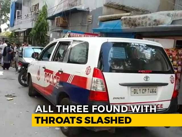 Video: Elderly Couple, Help Found Dead With Throats Slit At South Delhi Home