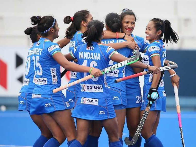 Indian Women's Hockey Team Secures Place In Olympics Qualifiers Final Round