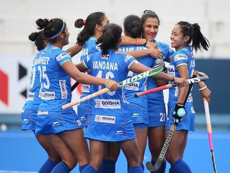 Indian Womens Hockey Team Secures Place In Olympics Qualifiers Final Round