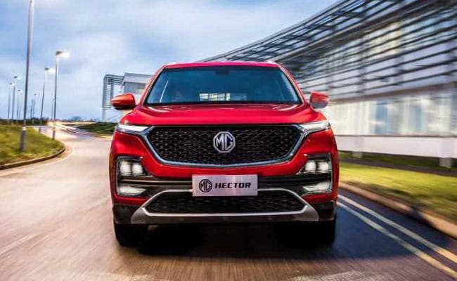 MG Motor has received over 21,000 bookings for the Hector in just 45 days.