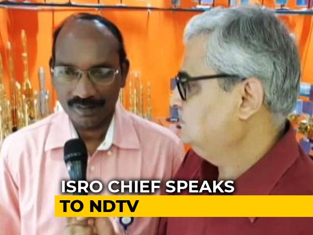 Video : India To Launch Moon Mission With Chandrayaan- 2; ISRO Chief Speaks To NDTV