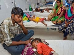 Encephalitis Death Toll Mounts To 129 In Bihar's Muzaffarpur