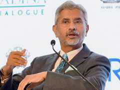 """Must Be Done Without Gun Pointed At Us"": S Jaishankar On Talks With Pak"
