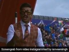 भारत-पाकिस्तान मैच में रणवीर सिंह मैदान में करने लगे कुछ ऐसा, क्रिकेटर चहल ने किया ये कमेंट- देखें Video