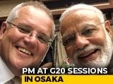 Video : Australia's Scott Morrison Tweets Selfie With PM Modi - And A Compliment