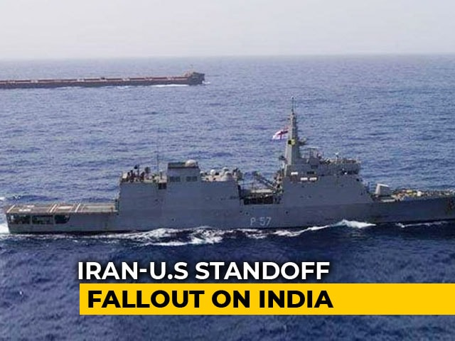Video : Navy Officers Board Indian Crude Oil Carriers Amid Persian Gulf Tension