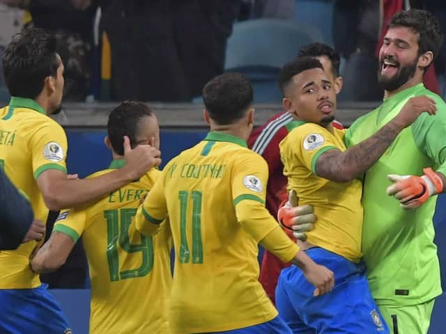 Brazil Exorcise Paraguay Penalty Demons To Reach Copa America Semis