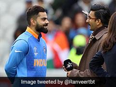 भारत की जीत के बाद खुद को नहीं रोक पाए रणवीर सिंह, मैदान में उतरकर कोहली को यूं दी बधाई - देखें Video