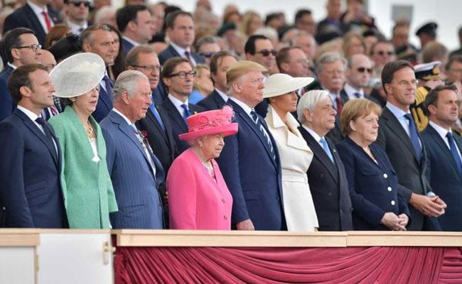 Donald Trump, Queen Elizabeth II Commemorate 75th D-Day Anniversary
