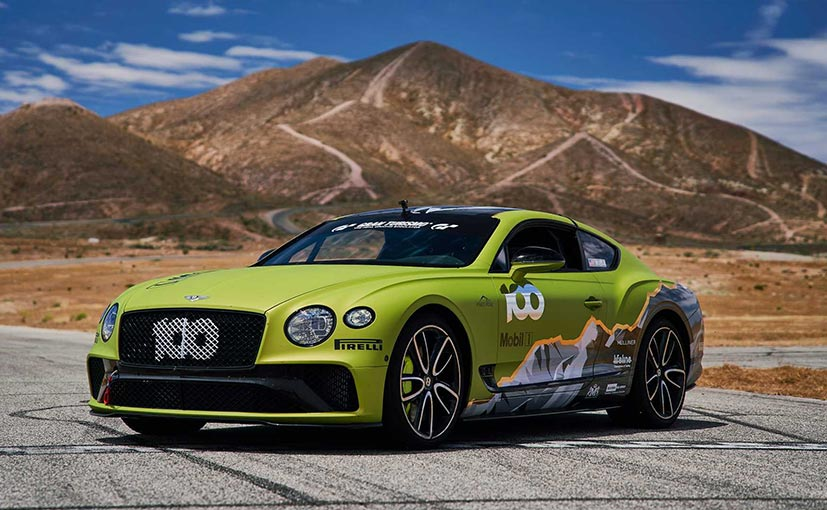 Bentley Continental GT's record attempt will take place on June 30.