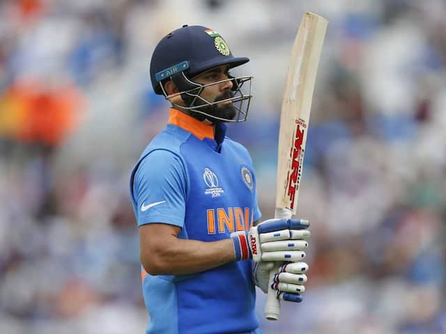 Virat Kohli In Injury Scare Ahead Of Indias World Cup Opener Against South Africa
