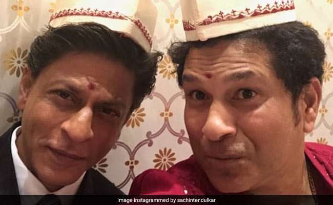 'Don't 'Chuck De' Helmet': Shah Rukh Khan Gets Bollywood Style Advice From Sachin Tendulkar. His Reply Is Epic