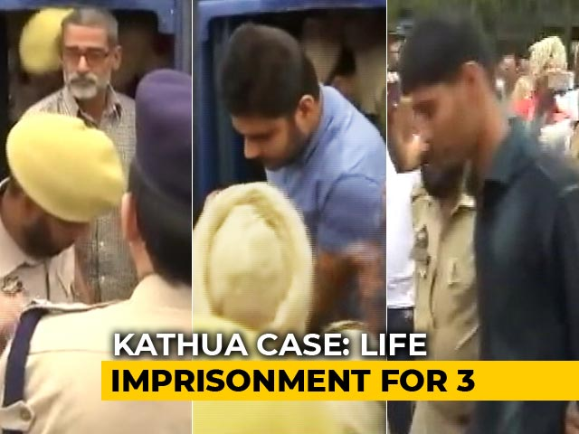 Video : Kathua Rape Case: Life Sentence For 3 Convicts, 5-Year Term For Others