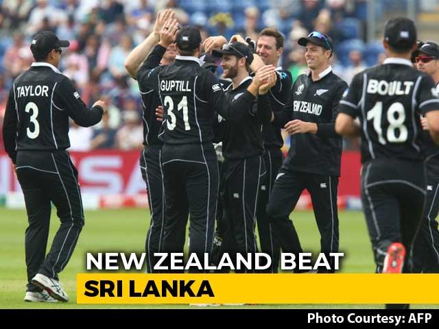 World Cup 2019: New Zealand Thrash Sri Lanka By 10 Wickets