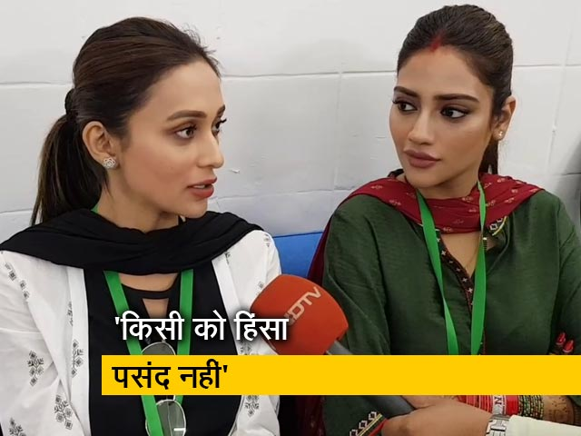 Video : NDTV से बोलीं TMC सांसद नुसरत जहां, किसी को हिंसा पसंद नहीं, बंगाल के लोग सिंपल हैं