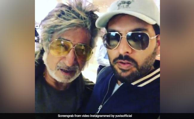 जब शक्ति कपूर से एयरपोर्ट पर टकराए युवराज सिंह तो सुनने को मिला- आऊ...देखें Video
