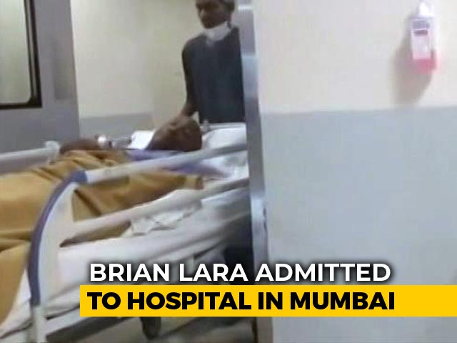 """Video : """"I Am Fine, Will Be Back In My Hotel Room Soon,"""" Says Brian Lara"""