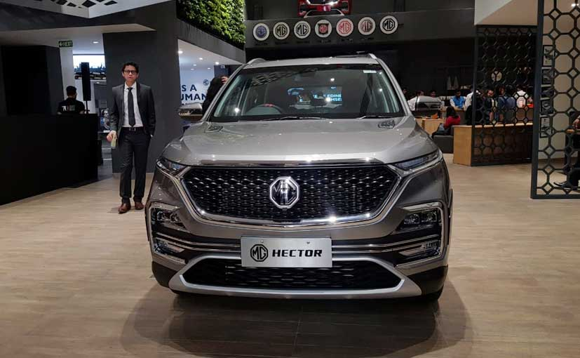 The MG Hector will be offered with a range of drivetrains and gearbox combination.