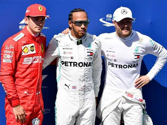 Lewis Hamilton Powers To French Grand Prix Pole