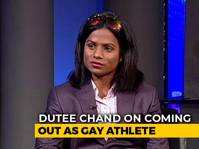 "Video : ""Felt Like Didn't Belong To This World"": India's 1st Openly Gay Athlete Dutee Chand"