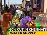 Video : Water Crisis In Chennai, Desperate Locals Pay Double For Private Supply