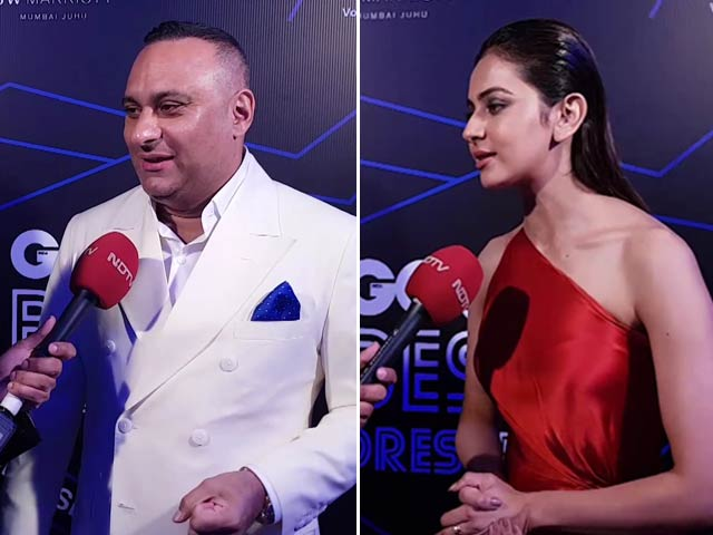 #GQBestDressed: Meet Rakul Preet Singh & Stand-Up Comic Russell Peters
