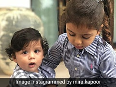Shahid Kapoor And Mira Rajput's Kids Misha And Zain Are Setting 'Sibling Goals'