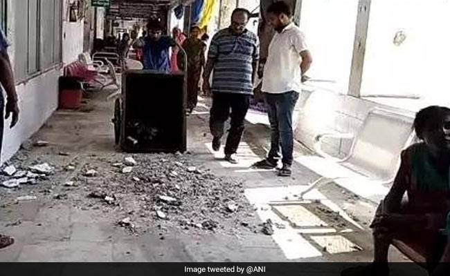 ICU Roof Collapses At Hospital In Bihar, Hit By Encephalitis Deaths