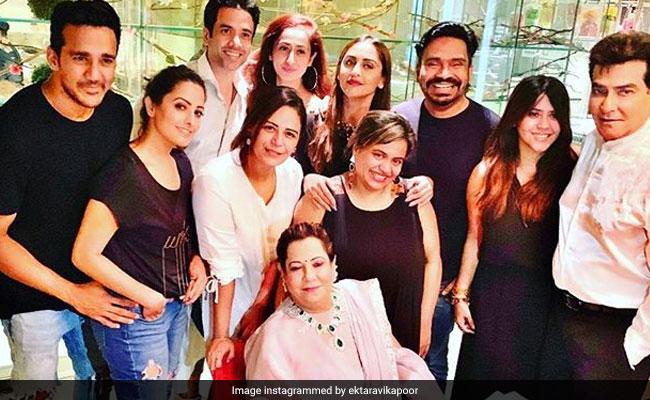 Inside Ekta Kapoor's Birthday Dinner With Family And Friends Krystle D'Souza, Anita Hassanandani
